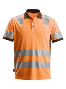Snickers 2730 AllroundWork, High-Vis Polo Shirt, Class 2 - High Vis Orange