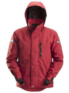 Snickers 1102 AllroundWork, Waterproof 37.5® Insulating Jacket - Chili Red