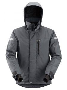 Snickers 1102 AllroundWork, Waterproof 37.5® Insulating Jacket - Steel Grey