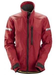Snickers 1207 AllroundWork, Women's Softshell Jacket - Chili Red