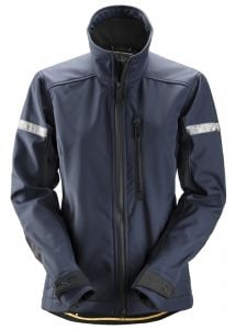 Snickers 1207 AllroundWork, Women's Softshell Jacket - Navy