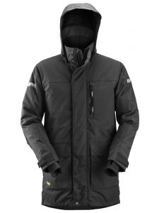 Snickers 1800 AllroundWork, Waterproof 37.5® Insulated Parka - Black