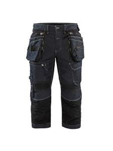 Blåkläder 1991-1141 Pirate Shorts Stretch Denim - Navy Blue