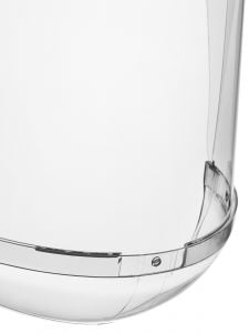 Hellberg SAFE Polycarbonate Visor with Chin Protection