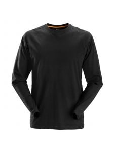 Snickers 2410 AllroundWork, T-Shirt l/s - Black