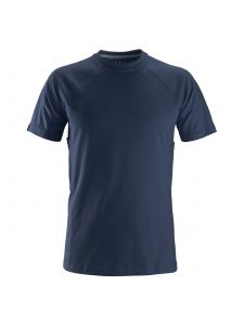 Snickers 2504 T-shirt with MultiPockets - Navy