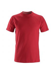 Snickers 2504 T-shirt with MultiPockets - Chili Red
