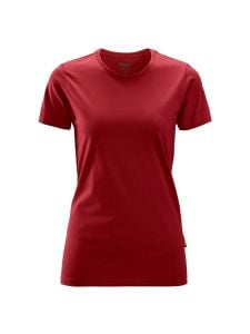 Snickers 2516 Women's T-shirt - Chili Red