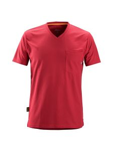 Snickers 2524 AllroundWork, 37.5® Technology s/s T-Shirt - Chili Red