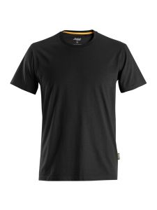 Snickers 2526 AllroundWork, T-Shirt Organic Cotton - Black