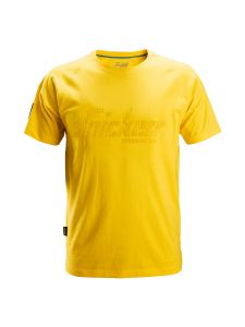 Snickers 2580 Logo T-shirt - Yellow