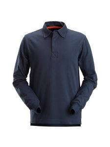 Snickers 2612 AllroundWork, Rugby Shirt - Navy