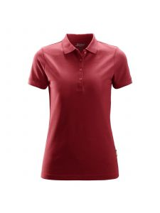 Snickers 2702 Women's Polo Shirt - Chili Red