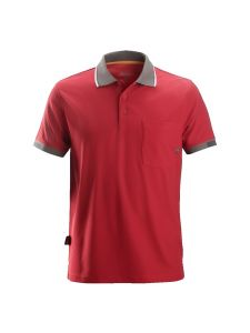 Snickers 2724 AllroundWork, 37.5 ® Technology Polo Shirt s/s - Chili Red
