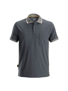 Snickers 2724 AllroundWork, 37.5 ® Technology Polo Shirt s/s - Steel Grey
