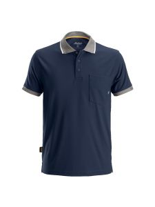 Snickers 2724 AllroundWork, 37.5 ® Technology Polo Shirt s/s - Navy
