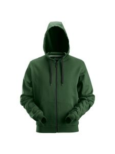 Snickers 2801 Classic Zip Hoodie - Forest Green