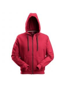 Snickers 2801 Classic Zip Hoodie - Chili Red