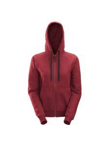 Snickers 2806 Women's Zip Hoodie - Chili Red