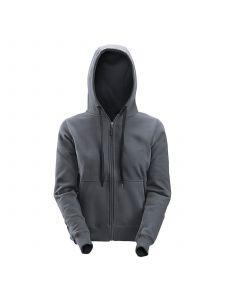 Snickers 2806 Women's Zip Hoodie - Steel Grey
