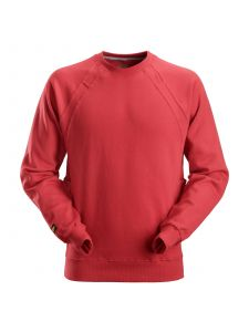Snickers 2812 Sweatshirt MultiPockets™ - Chili Red
