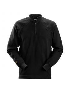 Snickers 2813 1/2 Zip Sweatshirt MultiPockets™ - Black