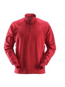 Snickers 2813 1/2 Zip Sweatshirt MultiPockets™ - Chili Red
