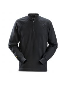 Snickers 2813 1/2 Zip Sweatshirt MultiPockets™ - Steel Grey