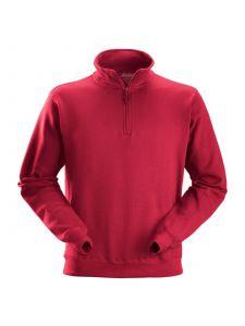 Snickers 2818 ½ Zip Sweatshirt - Chili Red