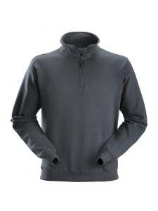 Snickers 2818 ½ Zip Sweatshirt - Steel Grey