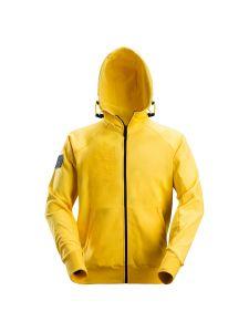 Snickers 2880 Logo Full Zip Hoodie - Yellow