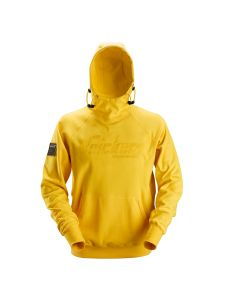 Snickers 2881 Logo Hoodie - Yellow