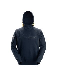 Snickers 2881 Logo Hoodie - Navy