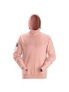 Snickers 2881 Logo Hoodie - Devon Pink