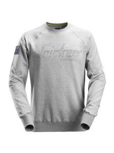 Snickers 2882 Logo Sweatshirt Crewneck - Grey