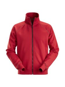 Snickers 2886 AllroundWork, Full Zip Sweatshirt Jacket - Chili Red
