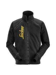 Snickers 2887 Logo Full Zip Jacket - Black