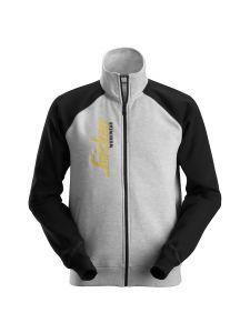 Snickers 2887 Logo Full Zip Jacket - Grey