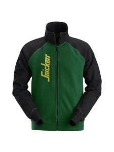 Snickers 2887 Logo Full Zip Jacket - Forest Green