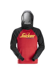 Snickers 2889 AllroundWork, Logo Hoodie - Chili Red