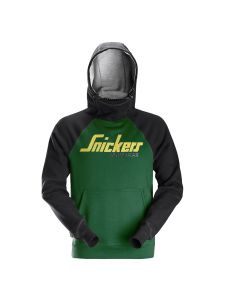 Snickers 2889 AllroundWork, Logo Hoodie - Forest Green