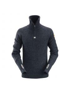 Snickers 2905 ½-Zip Wool Sweater - Navy
