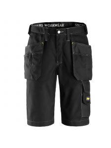 Snickers 3023 Craftsmen, Shorts Pocket Shorts, Rip Stop - Black