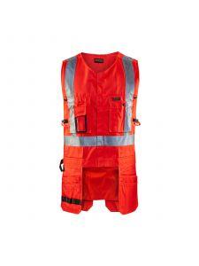 High Vis Tool Vest 3027 High Vis Rood - Blåkläder