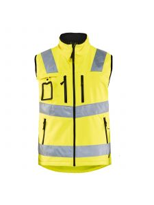 High Vis Softshell Vest 3049 High Vis Geel - Blåkläder