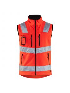 High Vis Softshell Vest 3049 High Vis Rood - Blåkläder