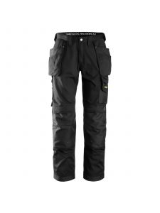 Snickers 3211 Craftsmen, with Holster Pockets Trousers CoolTwill - Black
