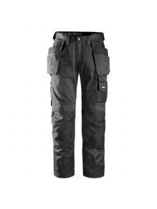 Snickers 3212 Craftsmen, Work Trousers with Holster Pockets DuraTwill - Black
