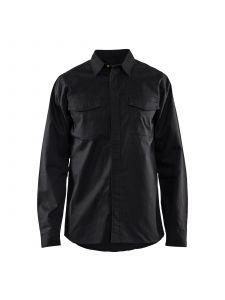 Flame Retardant Shirt 3226 Zwart - Blåkläder