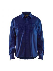 Flame Shirt 3227 Marineblauw - Blåkläder